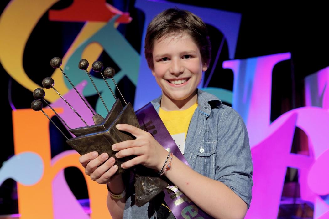 Raf Cornelissen is De Nationale Voorleeskampioen 2014