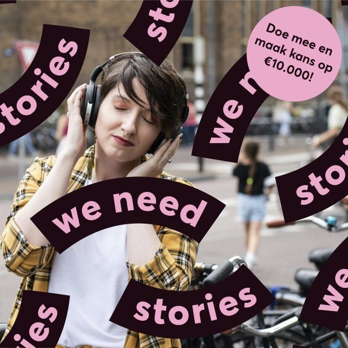 Doe mee met de Internationale Verhalenwedstrijd