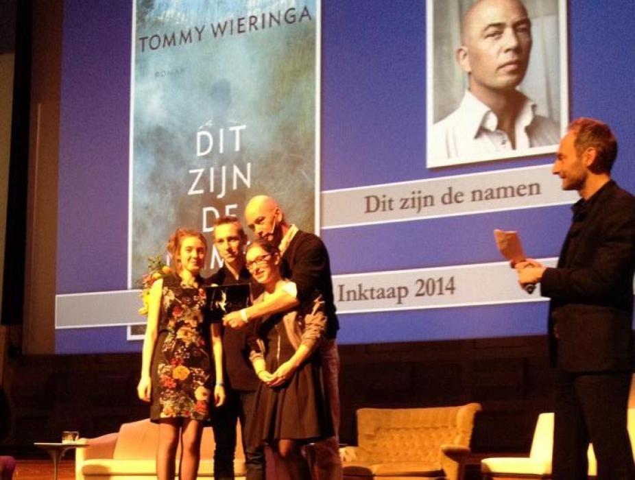Wieringa winnaar Inktaap 2014