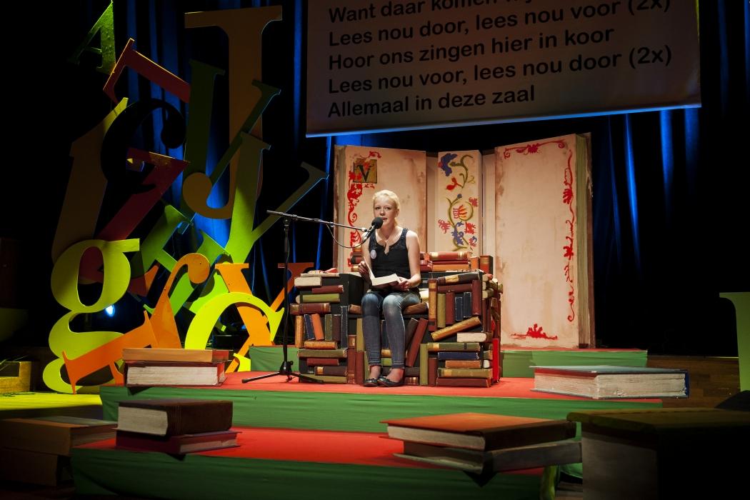Kim Hooftman, winnaar Read2me! 2014