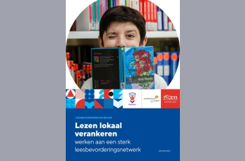 omslag brochure Lezen lokaal verankeren