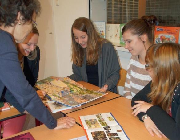 Pabo studenten aan de slag met Open Boek Pabo
