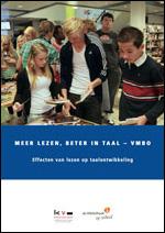omslag rapport Meer lezen beter in taal - vmbo (2015)