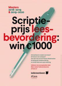 Affiche Scriptieprijs 2018-2020